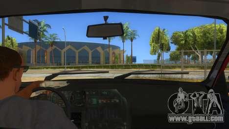 Dacia 1310L 1999 for GTA San Andreas inner view