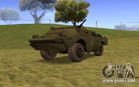 BRDM-2ЛД for GTA San Andreas