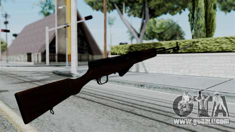 No More Room in Hell - Simonov SKS for GTA San Andreas third screenshot