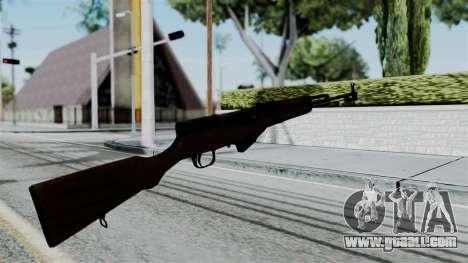 No More Room in Hell - Simonov SKS for GTA San Andreas third screenshot