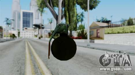 No More Room in Hell - Grenade for GTA San Andreas third screenshot