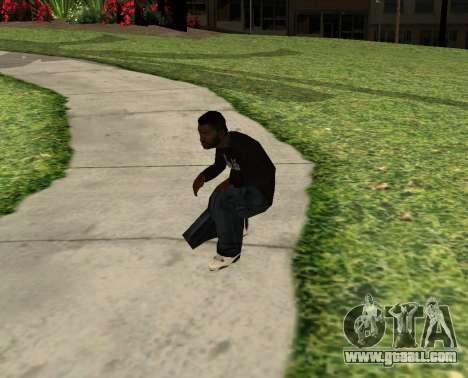 Black Madd Dogg (Thug life) for GTA San Andreas third screenshot