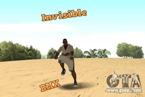 Invisibile BMX for GTA San Andreas
