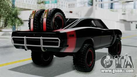 Dodge Charger 1970 Off Road  F&F7 for GTA San Andreas left view