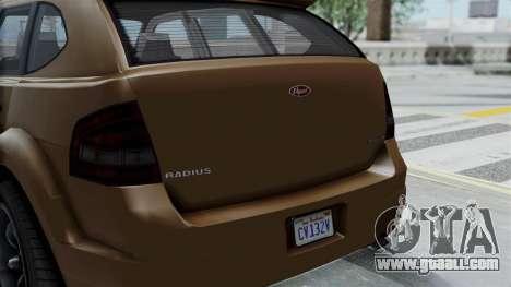 GTA 5 Vapid Radius for GTA San Andreas right view