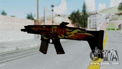 SCAR-L Extra PJ for GTA San Andreas second screenshot