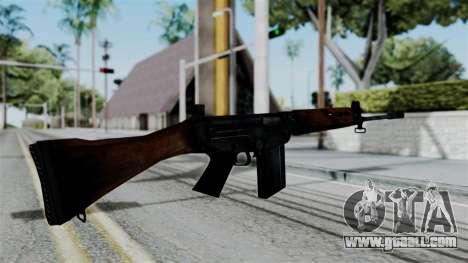 No More Room in Hell - FN FAL for GTA San Andreas third screenshot