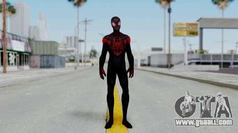 Marvel Future Fight Spider Man Miles v2 for GTA San Andreas second screenshot