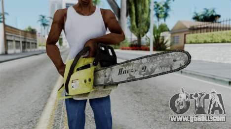 No More Room in Hell - Chainsaw for GTA San Andreas third screenshot