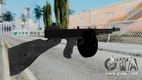 GTA 5 Gusenberg Sweeper - Misterix 4 Weapons for GTA San Andreas second screenshot