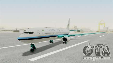 Boeing 737-800 Business Jet Indian Air Force for GTA San Andreas