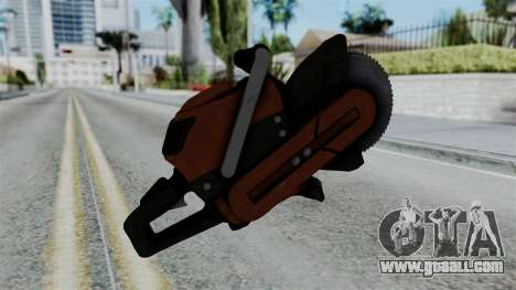 No More Room in Hell - Abrasive Saw for GTA San Andreas second screenshot