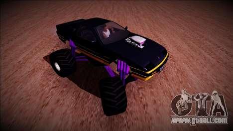 GTA 5 Imponte Ruiner Monster Truck for GTA San Andreas back view