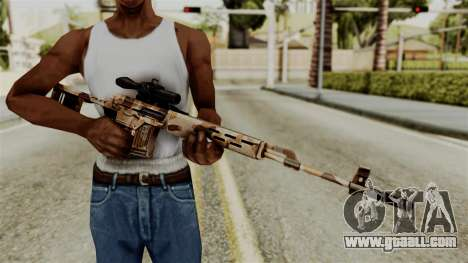 Dragunov Elite for GTA San Andreas third screenshot