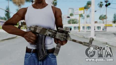 Arma OA AK-47 Eotech for GTA San Andreas third screenshot