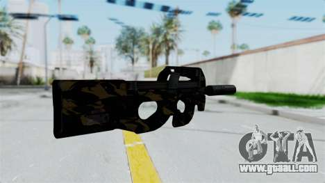 P90 Camo2 for GTA San Andreas second screenshot