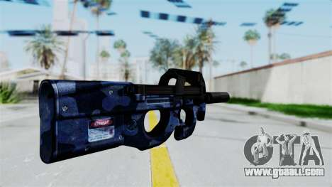 P90 Camo3 for GTA San Andreas second screenshot