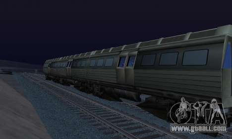 Batman Begins Monorail Train Vagon v1 for GTA San Andreas