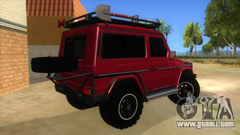 Mercedes-Benz G500 Off Road V3.0 for GTA San Andreas right view