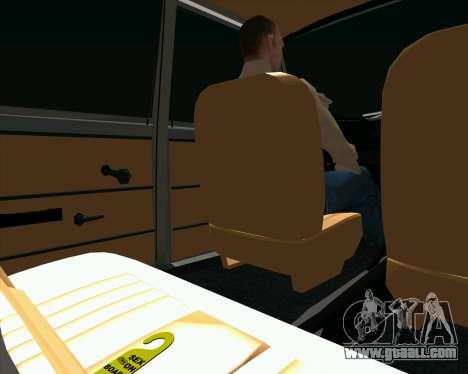 VAZ 2102 Combat Classics for GTA San Andreas back view