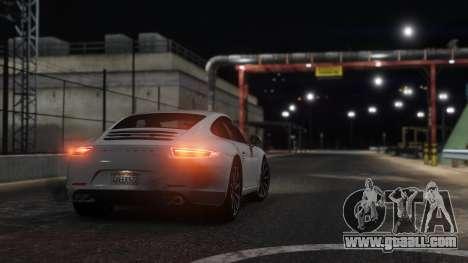 GTA 5 Porsche 911 rear left side view