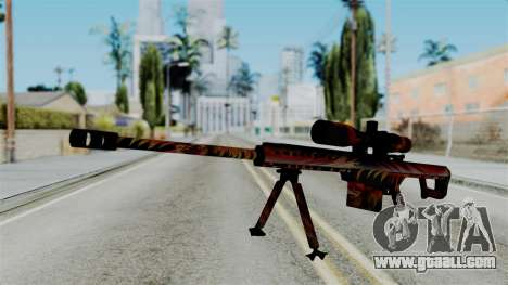 Barret 50.cal Phoenix for GTA San Andreas