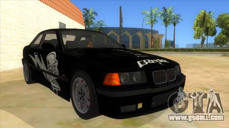 BMW M3 E36 for GTA San Andreas upper view
