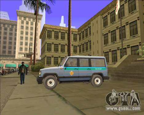 THE UAZ 3170 FSB for GTA San Andreas left view