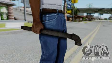 No More Room in Hell - Lead Pipe for GTA San Andreas third screenshot