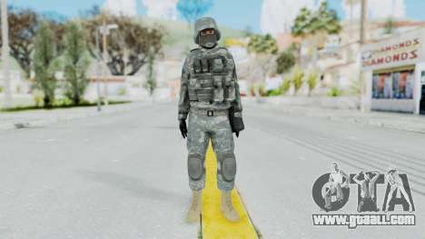 Acu Soldier 2 for GTA San Andreas second screenshot