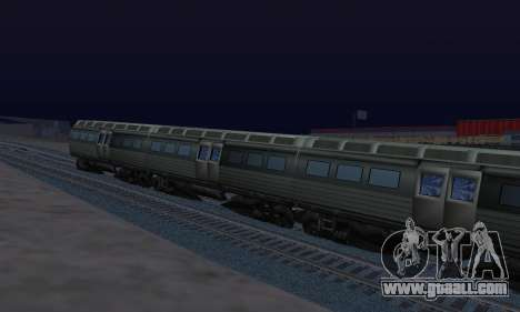 Batman Begins Monorail Train Vagon v1 for GTA San Andreas right view