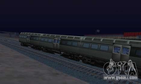 Batman Begins Monorail Train Vagon v1 for GTA San Andreas right view