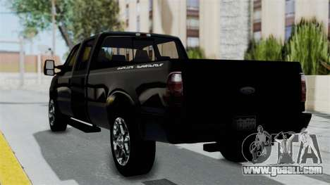 Ford F-250 Harley Davidson for GTA San Andreas left view