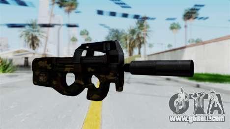 P90 Camo1 for GTA San Andreas