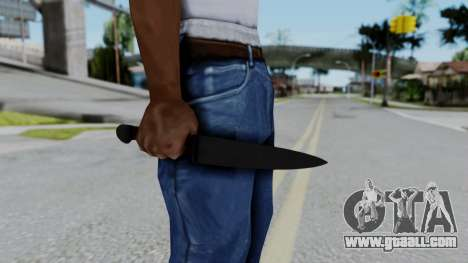 No More Room in Hell - Kitchen Knife for GTA San Andreas