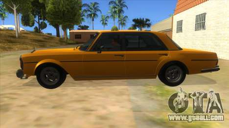 1972 Mercedes-Benz 300 SEL 6.8 AMG for GTA San Andreas left view