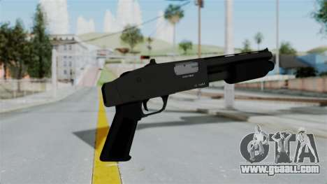GTA 5 Sawnoff Shotgun for GTA San Andreas third screenshot