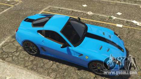 GTA 5 Ferrari 599 GTO[Replace] left side view