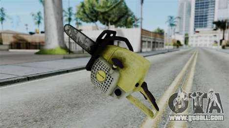 No More Room in Hell - Chainsaw for GTA San Andreas second screenshot
