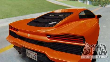 GTA 5 Pegassi Vacca IVF for GTA San Andreas inner view