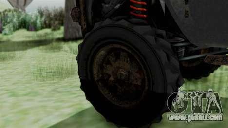 GTA 5 Karin Rebel 4x4 Worn IVF for GTA San Andreas back left view