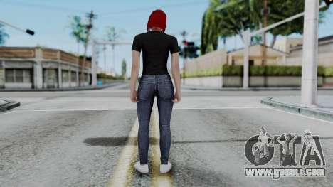 Female Skin 2 from GTA 5 Online for GTA San Andreas third screenshot