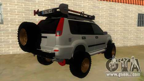 Nissan X-Trail 4x4 Dirty by Greedy for GTA San Andreas right view