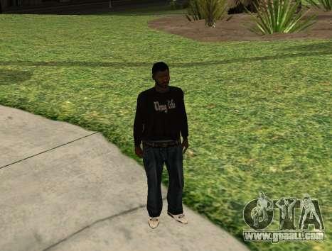 Black Madd Dogg (Thug life) for GTA San Andreas