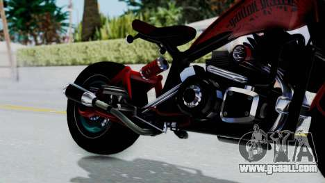 Turbike 3.0 for GTA San Andreas right view