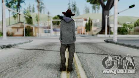 Carl Grimes from The Walking Dead for GTA San Andreas third screenshot