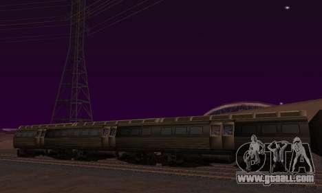 Batman Begins Monorail Train Vagon v1 for GTA San Andreas left view