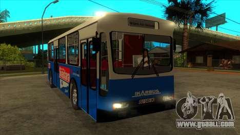 Ikarbus - Subotica trans for GTA San Andreas back view