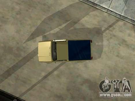 VAZ 2104 Pickup for GTA San Andreas inner view