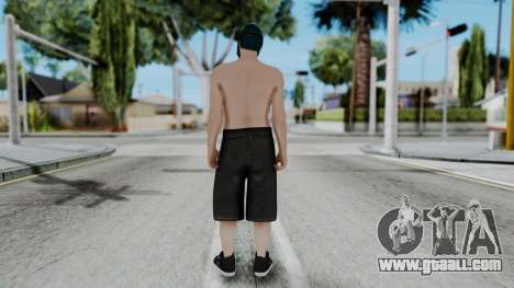 Skin Random 1 from GTA 5 Online for GTA San Andreas third screenshot